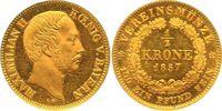 Halbe Vereinskrone - RR 1857 Bayern, Königreich Maximilian II. (1848-18... 6928.89 £ 8000,00 EUR free shipping