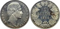 1 Gulden 1864 Bayern, Königreich Ludwig II. (1864-1886) min. berieben, ... 238.18 £ 275,00 EUR  +  6.50 £ shipping