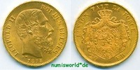 20 Francs 1875 Belgien Belgien - 20 Francs - 1875 f. Stg  246.84 £ 285,00 EUR  +  14.72 £ shipping