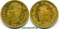 20 Lire 1882 Italien Italien - 20 Lire - 1882 45 g/900 Gold vz+  242.51 £ 280,00 EUR  +  14.72 £ shipping