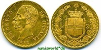 20 Lira 1882 Italien Italien - 20 Lira - 1882 vz+  246.84 £ 285,00 EUR  +  14.72 £ shipping