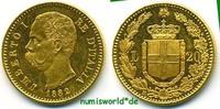 20 Lire 1882 Italien Italien - 20 Lire - 1882 f. Stg  246.84 £ 285,00 EUR  +  14.72 £ shipping