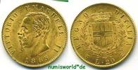 20 Lire 1865 Italien Italien - 20 Lire - 1865 vz  251.17 £ 290,00 EUR  +  14.72 £ shipping