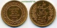 20 Francs 1898 Tunesien Tunesien - 20 Francs - 1898 vz  257.24 £ 297,00 EUR  +  14.72 £ shipping