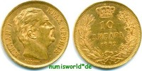 10 Dinara 1882 Serbien Serbien - 10 Dinara - 1882 vz+  231.25 £ 267,00 EUR  +  14.72 £ shipping