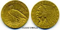 2 1/2 Dollars 1915 USA USA - 2 1/2 Dollars - 1915 vz  270.23 £ 312,00 EUR  +  14.72 £ shipping