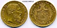20 Francs 1878 Belgien Belgien - 20 Francs - 1878 f. Stg  246.84 £ 285,00 EUR  +  14.72 £ shipping
