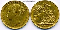 1 Sovereign 1878 Großbritannien Großbritannien - 1 Sovereign - 1878 vz  345.58 £ 399,00 EUR  +  14.72 £ shipping