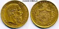 20 Francs 1876 Belgien Belgien - 20 Francs - 1876 f. Stg  246.84 £ 285,00 EUR  +  14.72 £ shipping