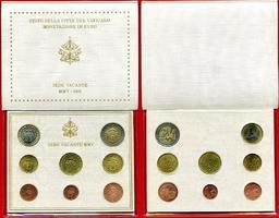Vatikan KMS 3,88 Euro 2005 Bankfrisch in OVP Sedis