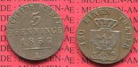 3 Pfennig Scheidemünze 1837 A Preußen Königreich Preußen 3 Pfennig 1837... 46.25 £ 55,00 EUR  +  7.15 £ shipping