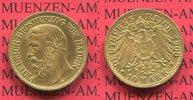 10 Mark Goldmünze 1900 G Baden Baden 10 Mark Gold 1900, Großherzog Frie... 387.90 £ 450,00 EUR  +  7.33 £ shipping