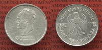 3 Mark 1932 E Weimarer Republik Deutsches Reich 100. Todestag von Goeth... 77.58 £ 90,00 EUR  +  7.33 £ shipping