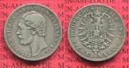 2 Mark Silber Kursmünze 1877 Mecklenburg Strelitz Mecklenburg Strelitz,... 340.49 £ 395,00 EUR  +  7.33 £ shipping