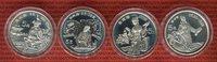 4 x 5 Yuan Silbermünzen 1989 China Volksrepublik PRC Chinesische Persön... 137.90 £ 164,00 EUR  +  7.15 £ shipping