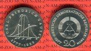 20 Mark Silbergedenkmünze 1977 DDR Gedenkmünze 200. Geburtstag Carl Fri... 49.61 £ 59,00 EUR  +  7.15 £ shipping