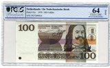 100 Gulden 1970 Niederlande Bunte Strukturen PCGS 64 Choice UNC  251.42 £ 299,00 EUR  +  7.15 £ shipping