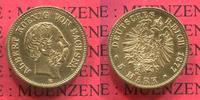 5 Mark Goldmünze 1877 E Sachsen, Saxony Albert f. vz  626.46 £ 745,00 EUR  +  7.15 £ shipping