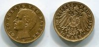 10 Mark Goldmünze Goldcoin 1898 D Bayern, ...