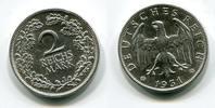 2 Mark Silber Kursmünze 1931 J Weimarer Re...