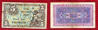 Bundesrepublik Deutschland 5 DM  Deutsche Mark Kopfgeld B-Stempel 1948 Kopfgeld 1948 B-Stempel Berlin Stamp