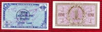 Bundesrepublik Deutschland 1 DM  Deutsche Mark Kopfgeld Bundesrepublik Deutschland, 1 DM  Deutsche Mark 1948 Kopfgeld mit B Stempel