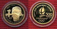 500 Francs Goldmünze 1992 Frankreich France Oly Albertville  Coubertin ... 538.16 £ 640,00 EUR  +  7.15 £ shipping