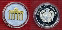 10 Dollars Skulpturmünze 2002 Nauru Nauru 10 Dollars 2002 Silber Brande... 130.34 £ 155,00 EUR  +  7.15 £ shipping