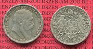 2 Mark Silber  1907 Baden  Baden 2 Mark 1907, Auf den Tod von Großerzog... 63.07 £ 75,00 EUR  +  7.15 £ shipping
