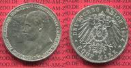 5 Mark Silbermünze 1904 Mecklenburg Schwerin Mecklenburg Schwerin, 5 Ma... 168.09 £195,00 EUR163.78 £ 190,00 EUR  +  7.33 £ shipping