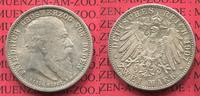 2 Mark Silbermünze Commemorative Coin 1907 Baden, German Empire State o... 63.07 £ 75,00 EUR  +  7.15 £ shipping
