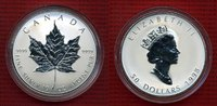 50 Dollar Silber 10 Unzen Maple Leaf 1998 Kanada Canada Kanada 50 Dolla... 323.74 £ 385,00 EUR  +  7.15 £ shipping
