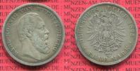 5 Mark Silbermünze 1875 Württemberg Württemberg 5 Mark 1875, Kursmünze,... 46.25 £ 55,00 EUR  +  7.15 £ shipping
