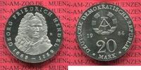 20 Mark Silbermünze 1984 DDR Eastern Germany FRG DDR 20 Mark 1984 Silbe... 129.30 £ 150,00 EUR  +  7.33 £ shipping