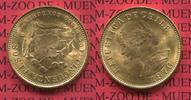 50 Pesos 5 Condores Goldmünze 1970 Chile C...