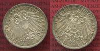 3 Mark Silber Kursmünze 1911 Lübeck City 3 Mark Freie und Hansestadt Lü... 167.34 £ 199,00 EUR  +  7.15 £ shipping