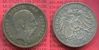 5 Mark Silbermünze 1902 Sachsen, Saxony German Empire Sachsen 5 Mark 19... 128.44 £ 149,00 EUR  +  7.33 £ shipping