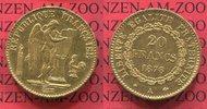 20 Francs Goldmünze 1878 A Frankreich, France Frankreich 20 Francs 3. R... 254.29 £ 295,00 EUR  +  7.33 £ shipping