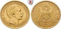 20 Mark 1906 A Preussen Wilhelm II., 1888-1918, 20 Mark 1906, A. Gold. ... 293.08 £ 340,00 EUR  +  8.62 £ shipping