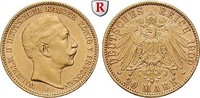 20 Mark 1909 J Preussen Wilhelm II., 1888-1918, 20 Mark 1909, J. Gold. ... 357.73 £ 415,00 EUR  +  8.62 £ shipping