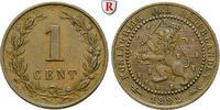 Cent 1892 Niederlande Königreich, Wilhelmina I., 1890-1948 ss  8.96 £ 10,00 EUR  +  8.96 £ shipping