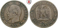 5 Centimes 1853 Frankreich Napoleon III., 1852-1870 f.ss  35.83 £ 40,00 EUR  +  8.96 £ shipping
