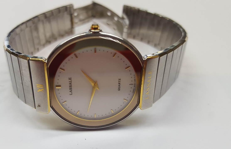 f6f8eec88a52 LASSALE Quartz Herrenuhr Armbanduhr Uhr Japan