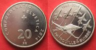 2014 Schweiz SWITZERLAND 20 Francs 2014 PATROUILLE SUISSE silver Proof... 43.27 £49,99 EUR34.62 £ 39,99 EUR  +  4.33 £ shipping