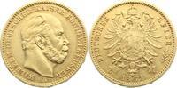 Preußen Wilhelm I. 1861-1888. 20 Mark Gold 1871  A