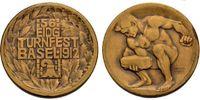 Bronzemedaille 1912 SCHWEIZ Turnfest in Basel. Sehr schön  43.10 £ 50,00 EUR  +  6.90 £ shipping