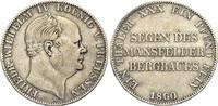 Taler 1860 A PREUSSEN  Sehr schön  58.86 £ 70,00 EUR  +  6.73 £ shipping