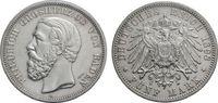 5 Mark 1898 BADEN  Sehr schön  67.27 £ 80,00 EUR  +  6.73 £ shipping