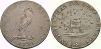 Cu Halfpenny Token 1793 BRITISCHE TRADE TOKEN HAMPSHIRE: PETERSFIELD/LA... 16.82 £ 20,00 EUR  +  6.73 £ shipping