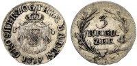 3 Kreuzer 1817 BADEN CARL LUDWIG FRIEDRICH Sehr schön-vorzüglich  50.45 £ 60,00 EUR  +  6.73 £ shipping